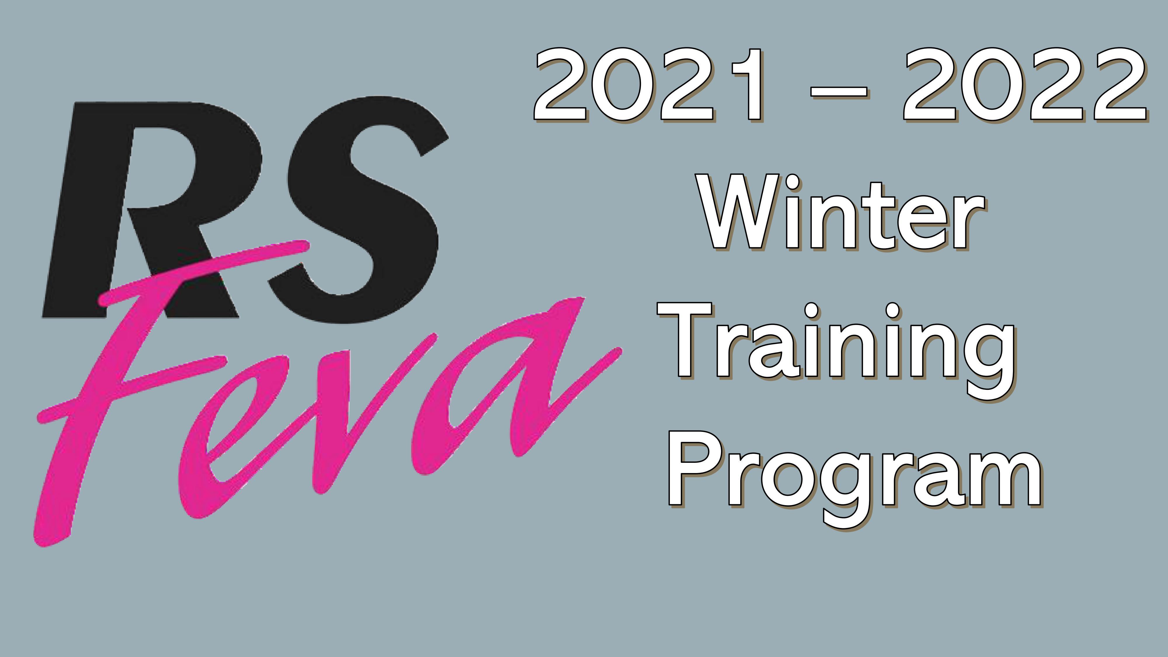 RS Feva Winter Training Program